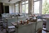 Abandoned school — Stock Photo