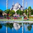 Blue Mosque in Istanbul, Turkey - 图库照片