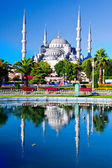 Blue Mosque in Istanbul, Turkey — 图库照片