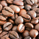 High Resolution Coffee Background With Copy Space — Stock Photo