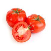 Red tomato vegetable fruits — ストック写真