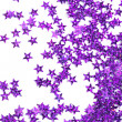 Celebration stars on white background - ストック写真