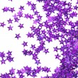 Celebration stars on white background - Zdjęcie stockowe