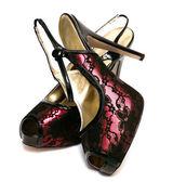 Womanish shoes isolated on white background — Stockfoto