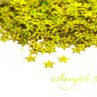Celebration stars on white background - Стоковая фотография