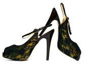 Womanish shoes isolated on white background — Stock Photo