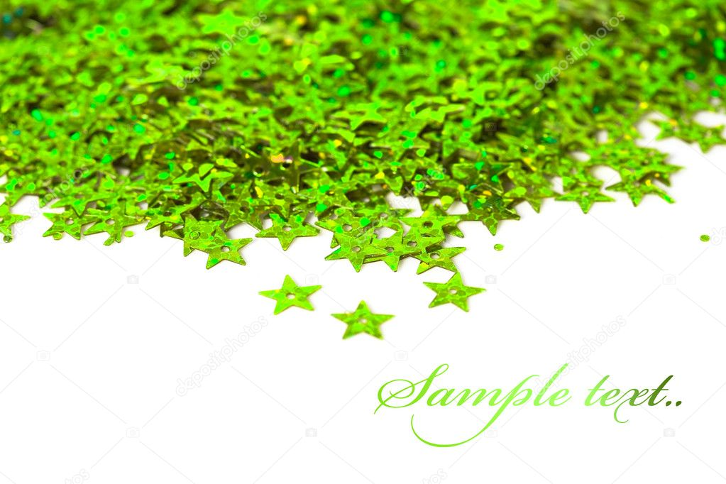 Celebration stars on white background  Stock Photo #4428025