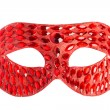 Masquerade mask isolated on white background — Stock Photo