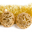 Royalty-Free Stock Photo: Christmas decoration with festive garland