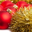 Christmas decoration with festive garland — Stock Photo #4495130