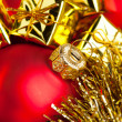 Christmas decoration with festive garland — Stock Photo #4505418