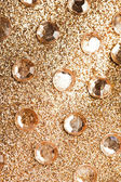 Festive background with many crystals — Stockfoto