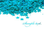Celebration stars on white background — Stock fotografie