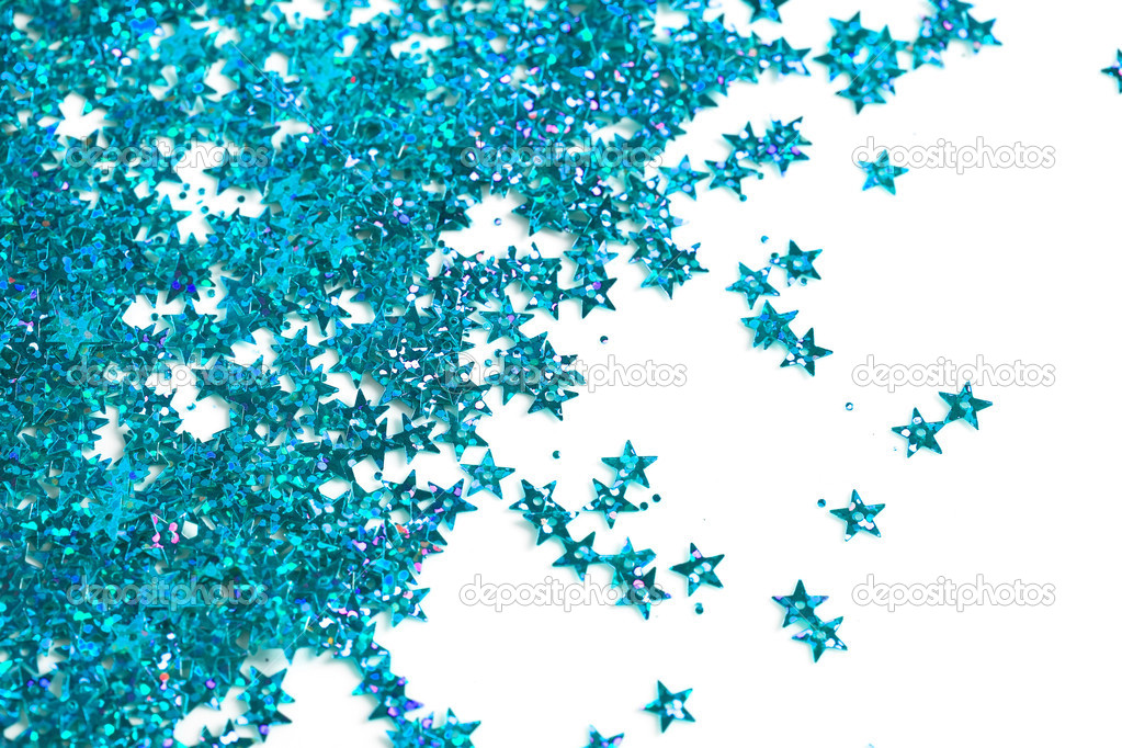 Celebration stars on white background — Stock Photo #5104720