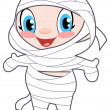 Baby mummy — Vector de stock #3955238
