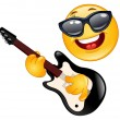 Rock emoticon — Stock Vector #4112334