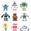 Royalty-Free Stock Vector Image: Robots