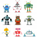 Robots — Stock Vector #4112344