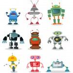 Robots — Stock Vector