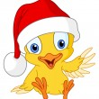 Royalty-Free Stock Vector Image: Christmas chick