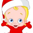 Christmas baby — Stock Vector #4158233
