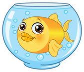 Goldfish — Stock Vector