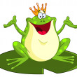 Royalty-Free Stock Vector Image: Frog prince