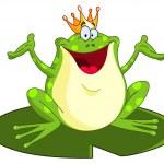 Frog prince — Stock Vector #4901719