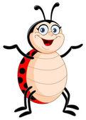 Lady bug — Stock Vector