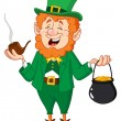 Royalty-Free Stock Vector Image: Leprechaun