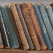 Stock Photo: Old hardcover books