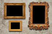 Old frames — Stock Photo