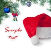 サンタの帽子 — ストック写真