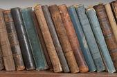 Viejos libros de pasta dura — Foto de Stock