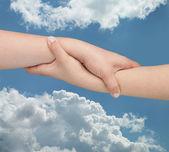 Hjälpande händer — Stockfoto