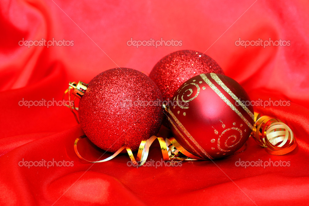 Christmas balls — Stock Photo #4329030