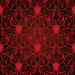Royalty-Free Stock Vector Image: Red seamless wallpaper pattern