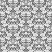 Grey seamless wallpaper pattern — Stock Vector