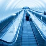 Moving escalator — Stock Photo #4241560