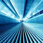 Moving escalator — Stock Photo #4242271
