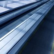 Moving escalator — Stock Photo #4242375
