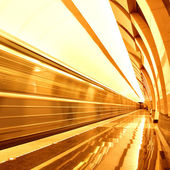 Stazione della metropolitana di luce blu — Foto Stock