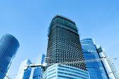 строительство многоэтажного здания — Стоковое фото