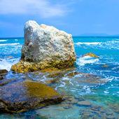 Beautifull blue waves — Stock Photo