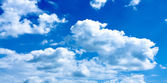Beautiful blue-sky — Stock Photo