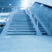Stair in office hall — Stockfoto
