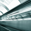Fast moving train by motion - Foto Stock