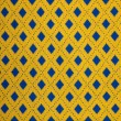 Yellow and blue seamless plaid — Stock Photo