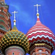 St Basils cathedral on Red Square in Moscow — Foto Stock