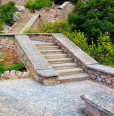 Stone stair in mountains — Stock Photo